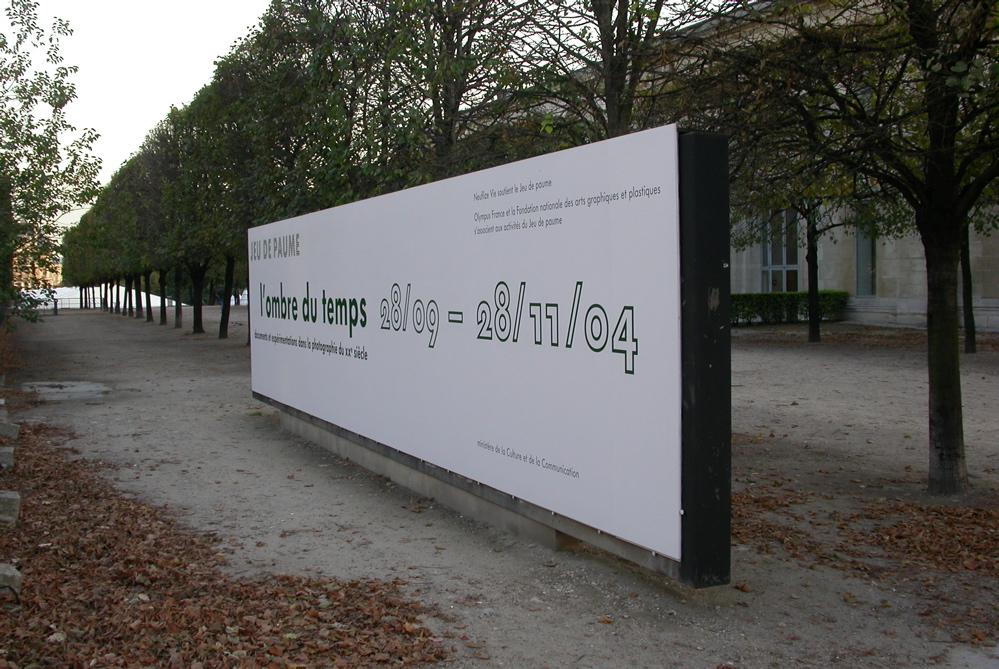 Panel placed towards the Rue Rivoli
